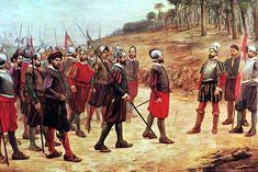 Pizarro and The Thirteen of the Fame - Juan Lepiani