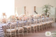 Navy,blush wedding