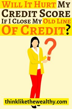 Should you close your old lines of credit? In this video, we will be discussing if you should close your old lines of credit and if it will hurt your credit . Improve Credit Score, My Credit Score, Credit Cards, What Is Velocity, Rebuilding Credit, It Hurts Me, Thing 1, Free Tips, Budgeting Money