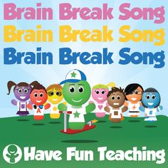 Brain Break Song for brain breaks, transitions, indoor recess, and physical activities. This Brain Break Song is perfect for your classroom or daycare.