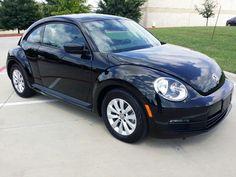 Volkswagen Beetle Hatchback Black