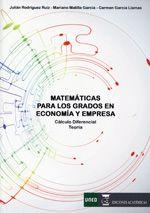 Matemáticas para los grados en economía y empresa : Cálculo diferencial, teoría