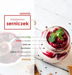 Pomysły na zdrowe śniadanie dla dzieci – przepisy na 7 dni tygodnia - Beszamel.se.pl Dessert Recipes, Desserts, Bakery, Easy Meals, Lunch Box, Food And Drink, Health Fitness, Yummy Food, Sweets