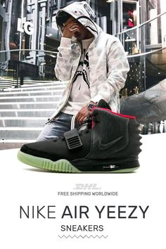 2fd23b5ba82 How to get Nike Air Yeezy NRG Black at online store