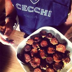 Cecchi in the kitchen