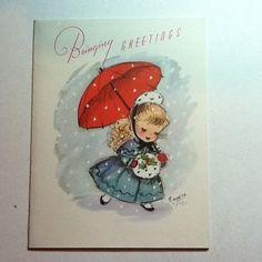 ... Rust Craft Marjorie M. Cooper Xmas Greeting Card, Adorable | eBay