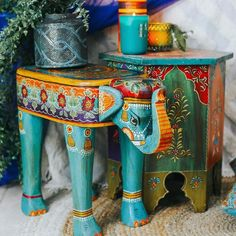 Elephant Stool Stool, Elephant, Lounge, Fun, Painting, Furniture Ideas, Temple, Collections, Home Decor