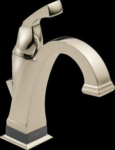 Dryden Standard Bathroom Faucet Lever Handle with Drain Assembly