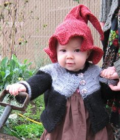 Baby witch and Elf hat pattern on Craftsy.com