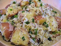 sauerkraut potato salad