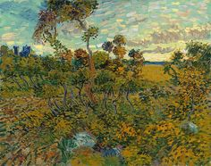 "A major new painting by Vincent van Gogh has been discovered after it spent decades locked away in an attic, suspected to be a fake. ""Sunset at Montmajour"" was painted by Vincent van Gogh in Researchers authenticated the painting in Vincent Van Gogh, Van Gogh Museum, Desenhos Van Gogh, Van Gogh Arte, Van Gogh Pinturas, Catalogue Raisonne, Van Gogh Paintings, Canvas Paintings, Art Van"