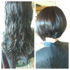 Todays before and after i did