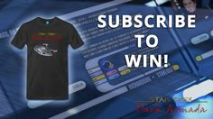 Subscribe to our newsletter to win a Star Trek Dark Armada t-shirt