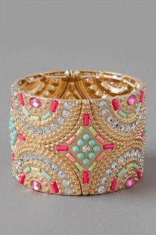 Lavaca Jeweled Cuff