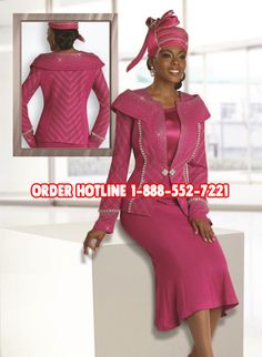 100.00 Coupon For Donna Vinci Church Suits Call 1888 552-722 for details