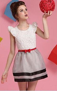 Sweety Stripe Bub Swing Dress