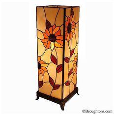 Sunflower Tiffany Table Lamp Large