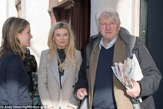 Georgia Toffolo reunites with Stanley Johnson for MIC | Daily Mail Online