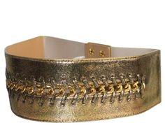 Branded Belts, Chain Belts, Belts For Women, Stretches, Fashion Brands, Cuff Bracelets, Flats, Amazon, Gold