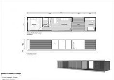 ZENKAYA HOUSE - despiertaYmira configure 2 1/2 for 2 bedder and bath then space for deck and then 2 for living