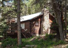 Colorado Log Cabin San Isabel National Forest Inholding