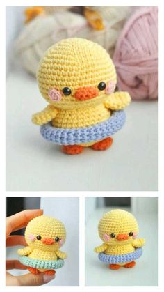 Diy Crochet Amigurumi, Kawaii Crochet, Crochet Baby Toys, Cute Crochet, Crochet Crafts, Crochet Dolls, Crochet Yarn, Crochet Projects, Crochet Lovey Free Pattern