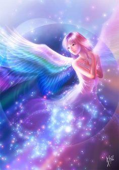 Ángeles...The Angel Birth...El Nacimiento del Ángel.