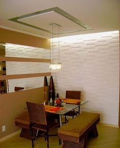 Dining room ceiling light setup