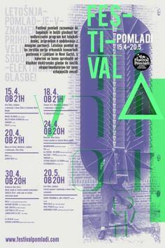 Designspiration — Festival Pomladi   vbg.si - creative design studio
