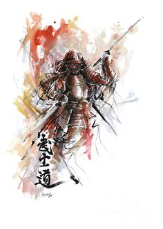 SamuraiArt  - paintings and prints for sale.