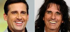 14 Photos of People Who Look Exactly Like Famous Celebrities _ John Breckinridge _Steve Carell _ Alice Cooper _ everything inspirational Steve Carell, Alice Cooper, Celebrity Look Alike, Celebrity Photos, Celebrity News, Celebrity Skin, Celebrity Couples, Jason Voorhees, Chuck Norris