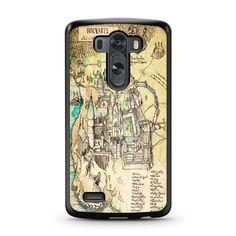 Harry Potter Hogwarts Map LG G3 case – Case Persona