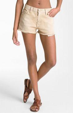 Current/Elliott 'The Boyfriend' Stretch Denim Cutoff Shorts (Haystack Wash)  ITEM #255060        $168.00