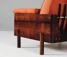 Jorge Zalszupin Pair of Rosewood Lounge Chairs 6