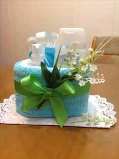 Тортик из полотенца
