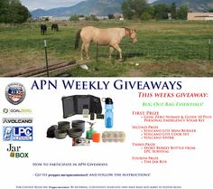 Check out the new Weekly Giveaway The APN is doing!