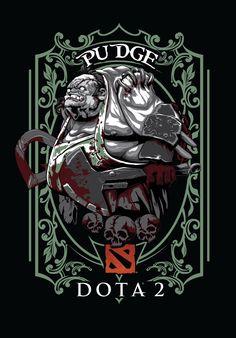 Involker and Pudge vector illustrator designs Dota 2 Heroes, Juggernaut Dota 2, Dota 2 Logo, Dota 2 Gameplay, Dota 2 Wallpapers Hd, Character Art, Character Design, Defense Of The Ancients, Dope Cartoon Art