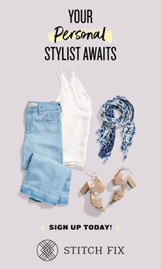 Get the personal styling service for the busy women on the go. Schedule a Fix and your Stylist will hand-select 5 items for you to try on at home. Keep what you love, send back the rest! Get started at StitchFix.com. Steampunk Pants, Date Outfits, School Outfits, Fashion Outfits, Womens Fashion, Personal Stylist, Stitch Fit, Teenage Girl Outfits, Cute Summer Outfits