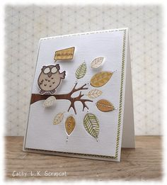 Inlaid owl