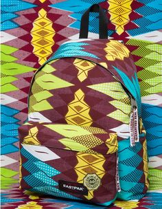 Uniwax Sekai Padded Pak r® backpack   VLISCO x EASTPAK   DAMAGE Primavera  Estate 0d7db4c2fced