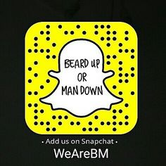 Attention to all the beard and fashion lovers!! We are now also on snapchat! Add us and check us out: WeAreBM  @beardmuscles