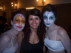 con las bailarinas maquillaje: Ivanna Reynoso http://www.flickr.com/photos/inaee/