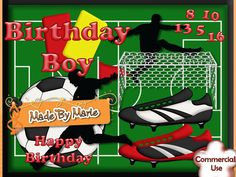 """""""Made By Marie"""" Football Crazy  Designer Resources at CUP  http://www.craftsuprint.com/designer-resources/digital-embelishments/digital-embelishments-accents-ornaments/football-crazy.cfm"""