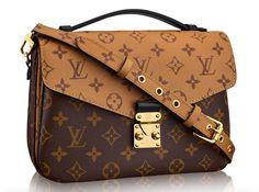 61a80c34e425 Louis Vuitton Reversed Monogram Pochette Metis Bag as seen on Cameran  Eubanks