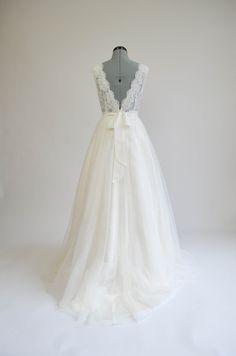 Lace wedding dress wedding dress bridal gown by ELDesignStudio, $399.99