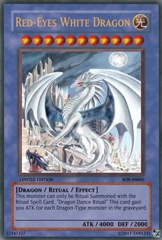 Red-Eyes White Dragon