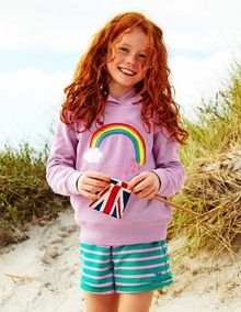 The rainbow remind me of my favourite sweatshirt from growing up in the 70s! #happydays @bodenclothing