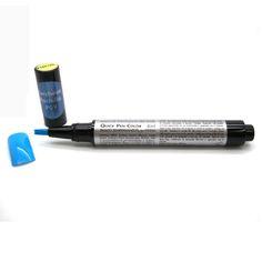 Smalto Semipermanente in Penna Turchese Pstello 4 ml Made in Italy. Un prodotto innovativo e comodissimo da borsetta utile anche per ritocchi dell'ultimo momento. Lo Smalto Semipermanente in Penna Quick Pen Color Turchese Pastello per unghie è stato studiato per velocizzare e perfezionare la stesura dello smalto grazie alla sua semplicità d'uso.