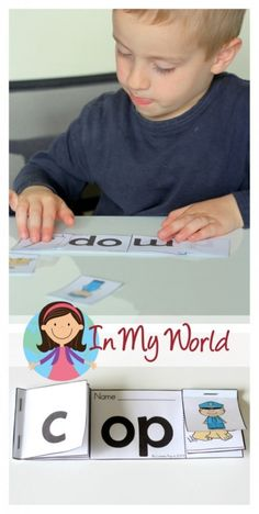 Word Family reader. Match the picture to each word. Great for building confidence in beginning readers. FREE printable.