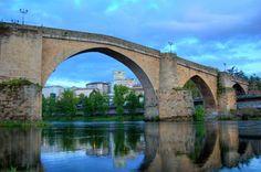 Puente romano de Orense (flickr | hermidaprada - imagen con licencia CC BY-SA 2.0).